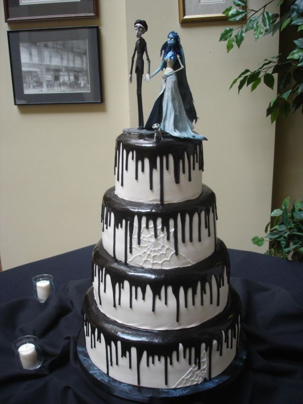 Corpse Bride Inspired Cakes March 20 2008